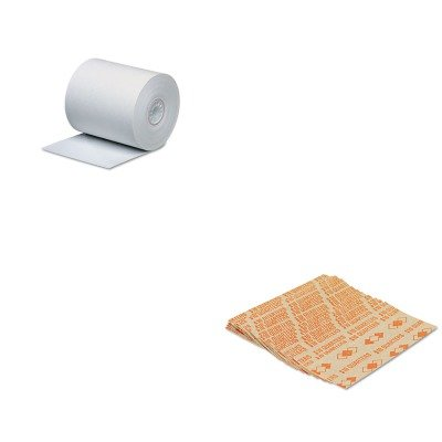 KITPMC05215PMC53025 - Value Kit - Pm Company Single-Ply Thermal Cash Register/POS Rolls (PMC05215) and Pm Company Tubular Coin Wrappers (PMC53025) by PM Company (Image #1)