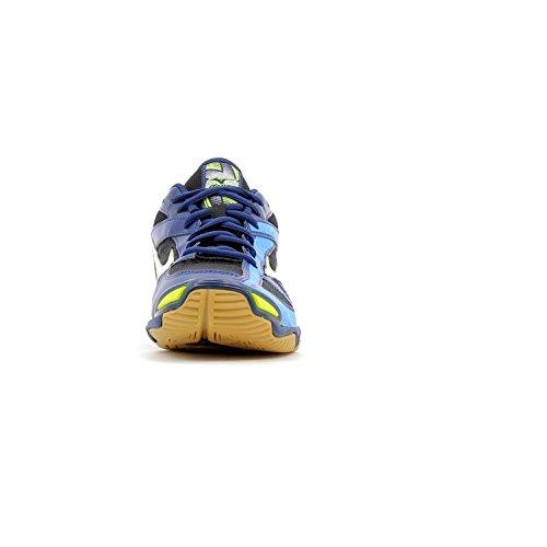 Mizuno Wave Bolt 6, Scarpe da Ginnastica Uomo noir/blanc/bleu