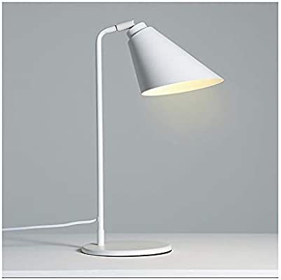 Lámpara de escritorio, lámpara de mesa de metal de moda creativa ...
