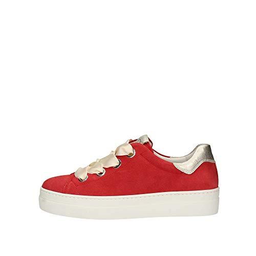 Giardini Rosso Red Nero 907813 Donna Sneaker Platino fwq8Rd