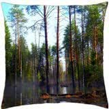 FOREST SWAMP - Throw Pillow Cover Case (18