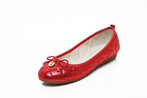 Red Scarpe Ow74fw6q Donna Col Tacco harsh 1to9 35 Rosso FTWUnOxYpx