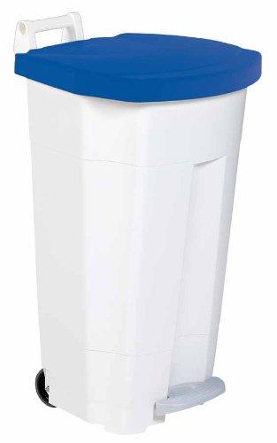 Farbe:Blau Rossignol Boogy Mobiler Treteimer 90 Liter aus Kunststoff