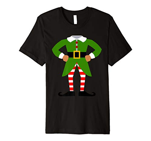 ELF COSTUME Christmas Shirt | Xmas Santa Helper T-Shirt -