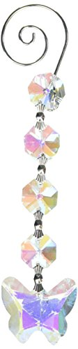 Homeford Acrylic Chandelier Crystals Butterfly Link, Iridescent