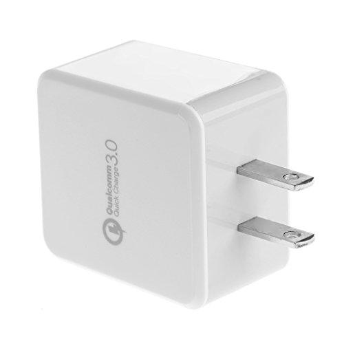 uick Charge QC 3.0 Single USB Hub Wall Charger Adapter US Plug ()