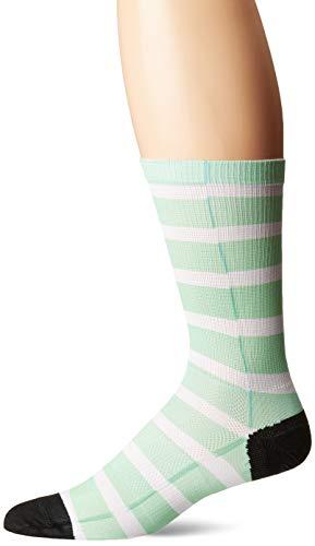 Canari Cyclewear Men's Signature Sock, Stripe Magic Mint, -