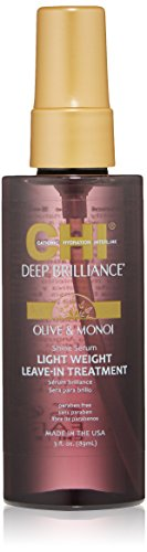 CHI  Shine Serum Light Weight Leave-In Treatment, 3 Fl Oz