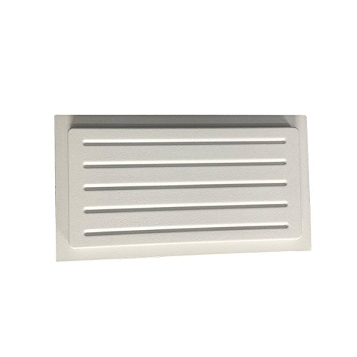 Crawl Space Foundation Vent Cover Outward Mounted (White) (10x18)