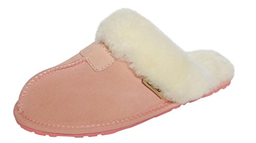Pantofole Da Donna In Pelle Di Pecora Slpr Womens Rosa
