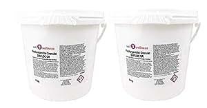 Piscina Floculante Flockungsmittel Granulado Diafloc Gr - 10 kg (2 X ...