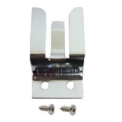 Metal MIC HOLDER / Clip - Screw In for CB / Ham Radio - Workman MH2: Home Improvement [5Bkhe0910041]