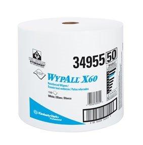 Kimberly-Clark WYPALL X60 TERI WIPER WHT ()