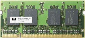 - HP 2GB PC2-5300, DDR2 SDRAM, EM995AA