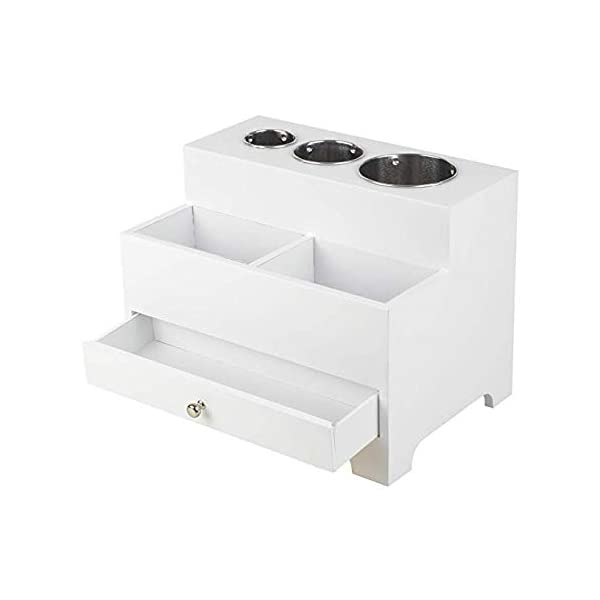 """HomeRoots 9"""" H x 12"""" W x 8.5"""" D Hair Styling Storage Chest"""