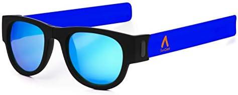 SUNDAM. Gafas de Sol polarizadas Efecto Espejo, Plegables y ...
