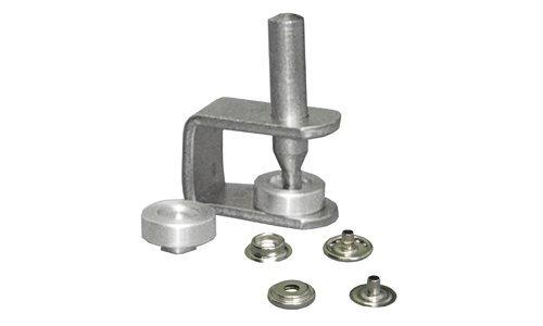 CSオズボーンno。k230 – 20 AN EASY TO USE HANDスナップセット。スナップは、ニッケルメッキ真鍮。セットComes with 25 Complete標準1 / 2