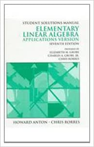 Student solutions manual to accompany elementary linear algebra student solutions manual to accompany elementary linear algebra applications version seventh edition 7th edition fandeluxe Choice Image