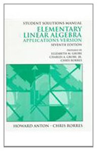 elementary linear algebra howard anton 10th edition solutions pdf