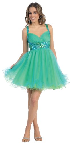 US Fairytailes Short Cocktail Party Junior Prom Dress 2657 at ...