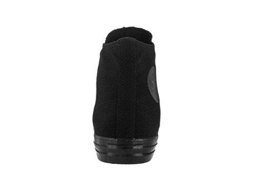 Converse Unisex Chuck Taylor All Star Hi Scarpe Sneaker Nere Monocromatiche