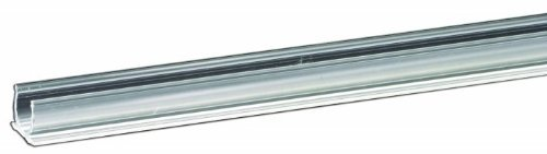 RL-TRACK-4 Rope Light Clear Plastic Mounting Track - 4 Foot ()