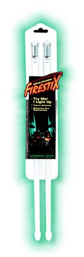 Music Treasures Co. Light-Up Drumsticks / Screamin Green Light