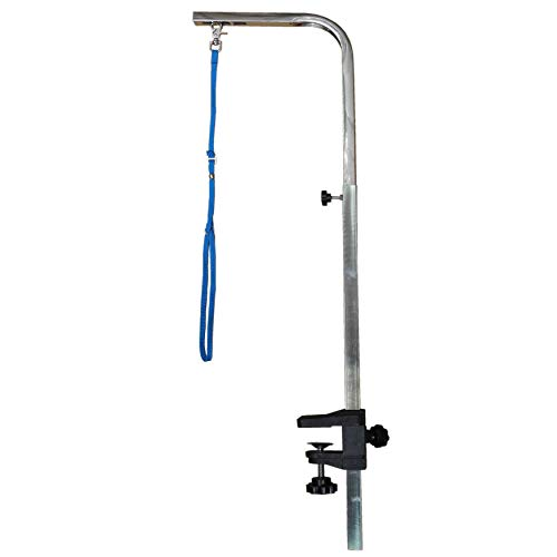 Go Pet Club Aluminum Pet Dog Grooming Arm with Clamp, 40-Inch