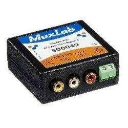 MuxLab Inc 500049 Stereo A/V/IR Pass-Thru Balun, Female ()