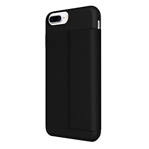 iPhone 7 Plus Case, Incipio Wallet Folio Case [Credit Card Case][Vegan Leather] Cover fits Apple iPhone 7 Plus - Black