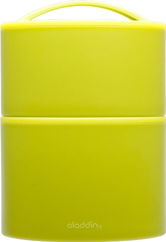 Aladdin Insulated Tiffin Lunch Set, 20oz|12oz, Lettuce
