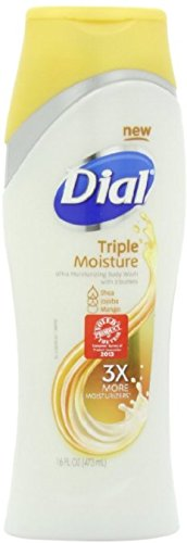 Dial Triple Moisture Body Wash 16 oz Pack of 4