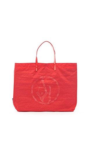 Armani 091158_c522x, Borsa A Mano Donna Rosso