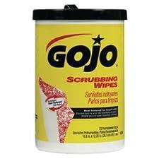 GOJO Wipes Scrubbing Hand Wipes
