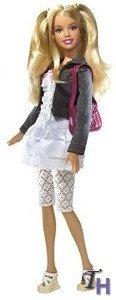 Fashion Fever Barbie Doll Lace White Dress Htf by Barbie