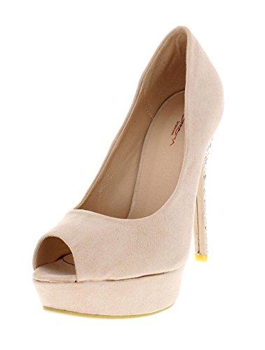 Soirée Chaussures Sandale Rose De Mariage Chaussure Dina Escarpin À Talon Femme 5q0R6n10x