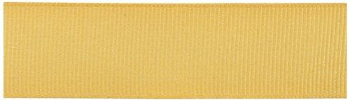 Gold Polyester Ribbon (Kel-Toy Polyester Grosgrain Ribbon, 7/8-Inch by 25-Yard, Gold)
