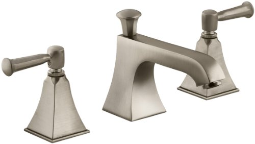 (KOHLER K-454-4S-BV Memoirs Widespread Lavatory Faucet with Stately Design, Vibrant Brushed Bronze)