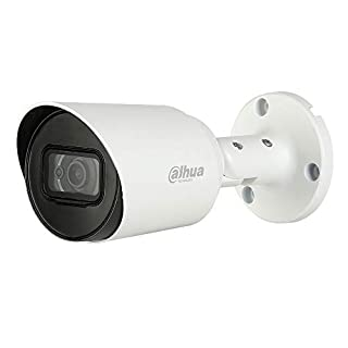 Dahua Lite 2MP HDCVI IR Bullet 2.8mm Multi-Format Starlight Security Camera, White (A21CF02)