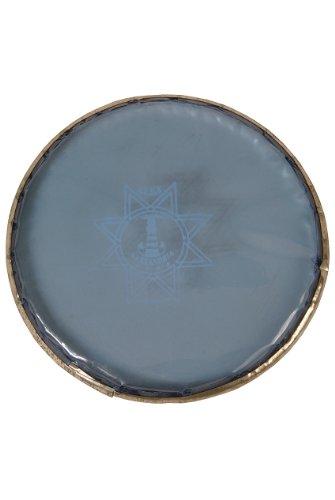 Alexandria Doumbek Head, Blue, ID 6'' by Mid-East