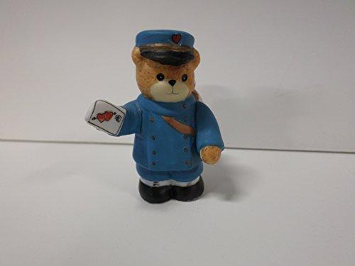 Bear Teddy Enesco - Lucy & Me Series (Enesco) **Teddy Bear as Mailman** 229113