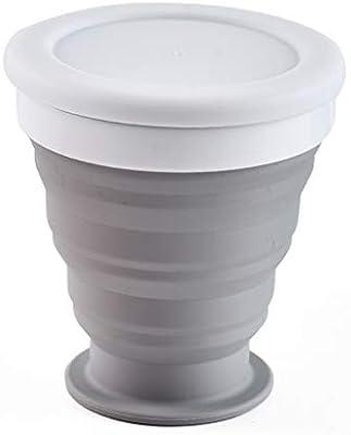 Vaso plegable portátil de silicona telescópico para beber o ...
