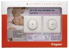 design professionnel original à chaud nouveaux styles Variateur sans fil prêt-à-poser Celiane - blanc: Amazon.fr ...