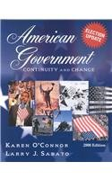 American Government: Continuity and Change, 2000 Election Update (Paperback)