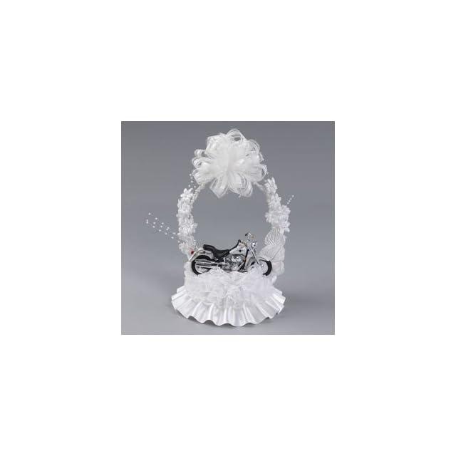 HARLEY DAVIDSON Motorcycle Bike Hog Wedding Cake Topper Ornament Arch 310