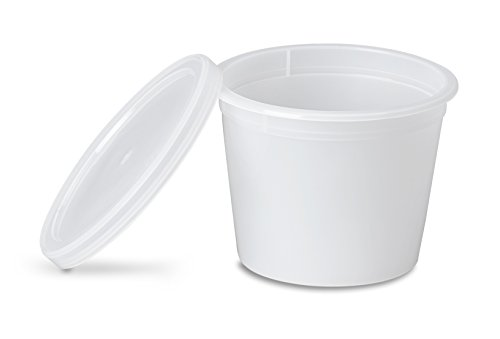 Storage Containers Designed for Fridge and Freezer (100 Pack) ()