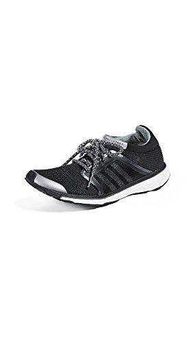 adidas by Stella McCartney Women's Adizero Adios Sneakers, Core Black/Night Grey/Silver, 6 - Mccartney Stella Uk