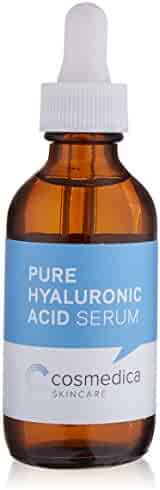 Hyaluronic Acid Serum for Skin-- 100% Pure-Highest Quality, Anti-Aging Serum-- Intense Hydration + Moisture, Non-greasy, Paraben-free-Best Hyaluronic Acid for Your Face (Pro Formula) 2 oz