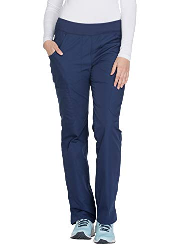 Cherokee Workwear WW210 Mid Rise Pull-On Cargo Pant Navy S ()