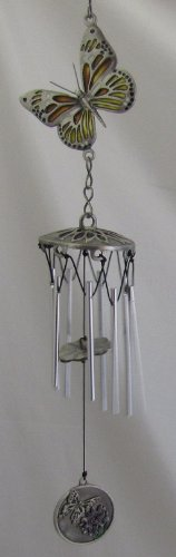 Wind Kiss - Bereavement Wind Chime - A Butterfly Kiss